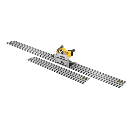 DEWALT - 6 1/2 Inch Track Saw Kit w/ 59 Inch and 102 Inch Track