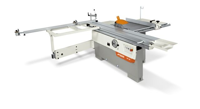 CASADEI 5' SLIDING PANEL SAW w/scoring and 4.8 hp single phase motor and dado capable
