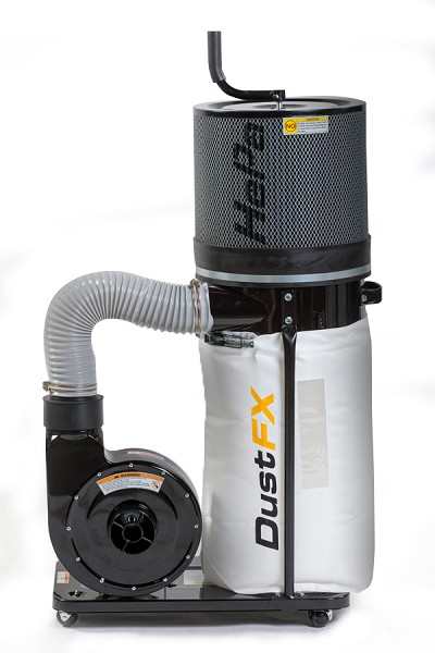 DUSTFX 1 HP HEPA Dust Collector