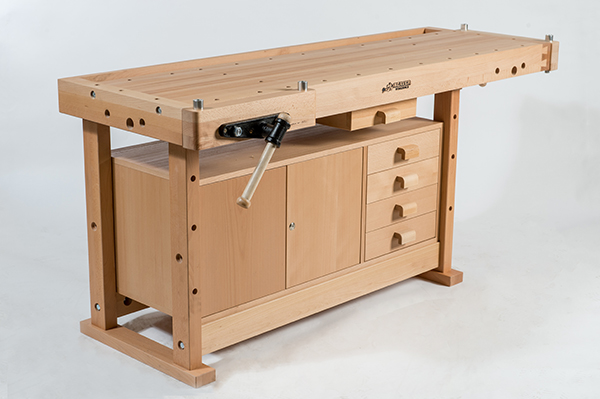 Beaver - Premium Plus Workbench C/W 2 Vises