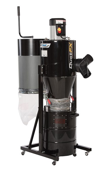 DUSTFX 1.5 HP HEPA Cyclone Dust Collector