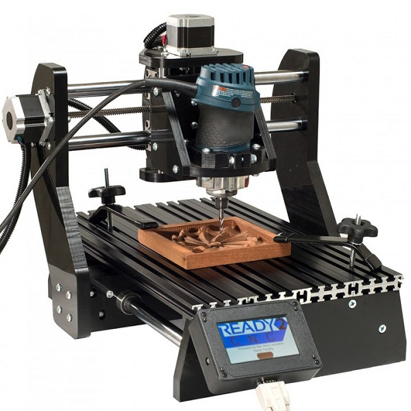 PIRANHA 12INCH X 19INCH CNC ROUTER C/W BOSCH COLT V.S. ROUTER