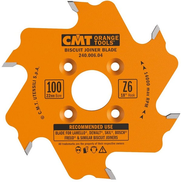 CMT BISCUIT JOINER BLADE (FITS MOST BISCUIT JOINERS)