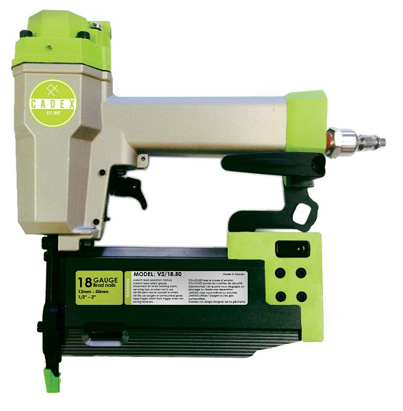 CADEX 2INCH DELUXE 18 GAUGE BRAD NAILER WITH SYSTAINER CASE