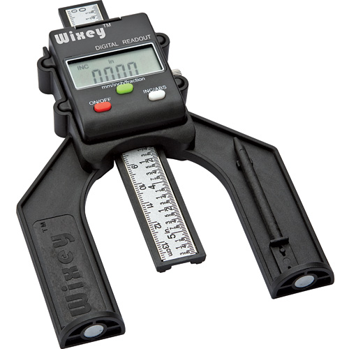 WIXEY DIGITAL HEIGHT GAUGE 'for accurate height measurements on saw blades and router bits'