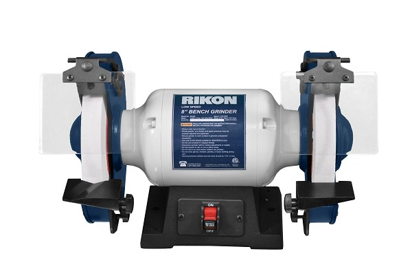 RIKON 8inch SLOW SPEED BENCH GRINDER
