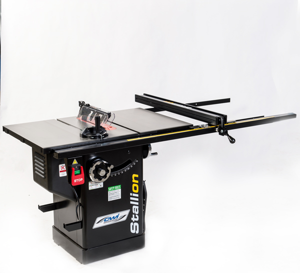 STALLION 1.5 HP 10inch CABINET SAW W/52inch DELUXE FENCE