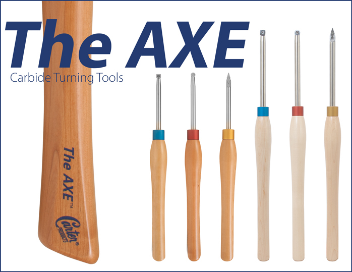 THE AXE CARBIDE WOODTURNING TOOL