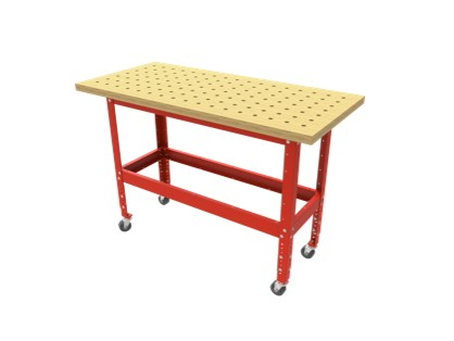 ARMOR 54X25 MAPLE TOP MOBILE ASSEMBLY TABLE