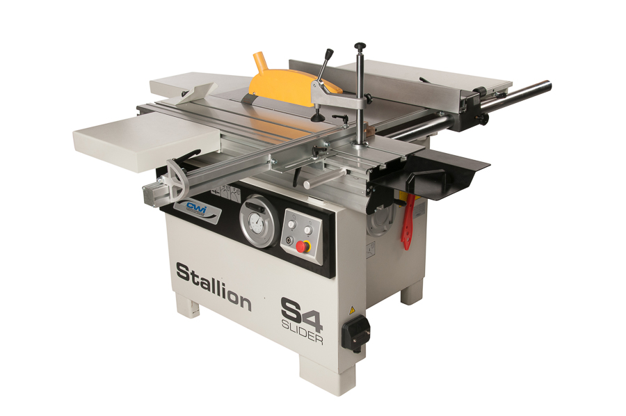 STALLION 'S4' 48inch SLIDING PANEL SAW W/SCORING SAW BLADE