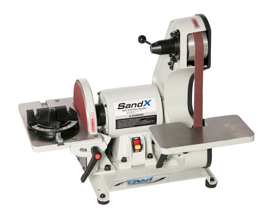 SANDX 8inch X 42inch BELT/DISC SANDER **USES BOTH 1inch AND 2inch WIDE BELTS**